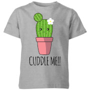 My Little Rascal Cuddle Me Cactus Kids' T-Shirt - Grey