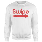 Swipe Right Sweatshirt - White