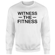 Witness the Fitness Sweatshirt - White