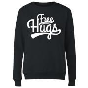 Free Hugs Women's Sweatshirt - Black