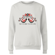 Meet Me Underneath The Mistletoe Women's Sweatshirt - White
