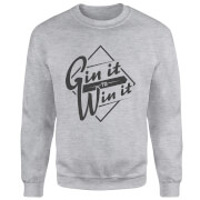 Gin it to Win it Sweatshirt - Grey