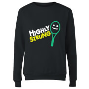 Highly Strung Women's Sweatshirt - Black