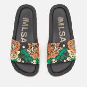 Melissa Women's 3D Beach Slide Sandals - Black
