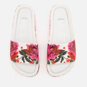 Melissa Women's 3D Beach Slide Sandals - White