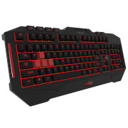 ASUS Cerberus MKII Multi-Colour LED Backlit Gaming Keyboard with Splash-Proof Design and 12 Macro Keys