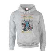 Marvel Doctor Strange Premiere Comic Cover Men's Grey Pullover Hoodie