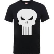 T-Shirt Homme Skull Logo - The Punisher Marvel - Noir