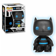 DC Justice League Batman Glow in the Dark Silhouette EXC Funko Pop! Vinyl