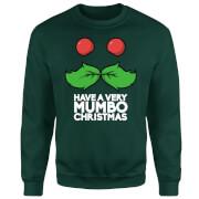 Mumbo Jumbo Have A Mumbo Christmas Green Sweatshirt