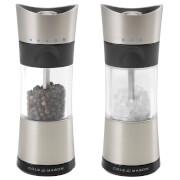 Cole and Mason Horsham Salt and Pepper Mill Set - Chrome