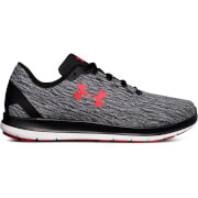 Under Armour Men's Remix Running Shoes - Black/Grey/Red