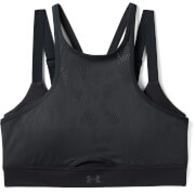 Under Armour Women's Vanish Mesh Sports Bra - Black