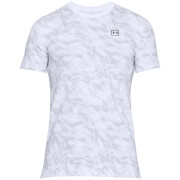 Under Armour Men's AOP Sportstyle T-Shirt - White