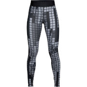 Under Armour Women's HeatGear Armour Printed Leggings - Black