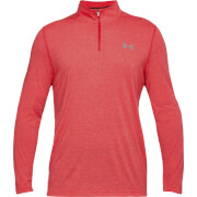 Under Armour Men's Threadborne Fitted 1/4 Zip Fleece - Red