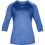 Under Armour Men's Threadborne Vanish Power Long Sleeve Top - Blue