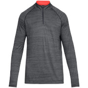 Under Armour Men's Tech 1/4 Zip Long Sleeve Top - Grey