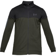Under Armour Men's Sportstyle Pique Jacket - Green