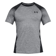 Under Armour Men's MK1 Dash Prt Left Chest T-Shirt - Black