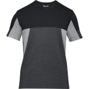 Under Armour Men's Sportstyle Colourblock T-Shirt - Black