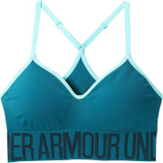 Under Armour Women's Seamless Solid Sports Bra - Green