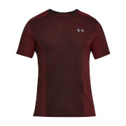 Under Armour Men's Threadborne Seamless T-Shirt - Red