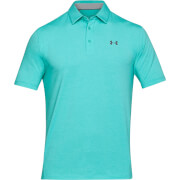 Under Armour Men's Charged Cotton Scramble Polo Shirt - Turquoise
