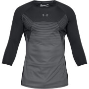 Under Armour Men's Threadborne Vanish Power Long Sleeve Top - Black