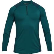 Under Armour Men's MK1 1/4 Zip Long Sleeved Top - Green