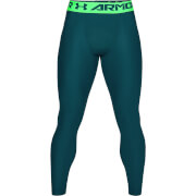Under Armour Men's HG Armour 2.0 Leggings - Green