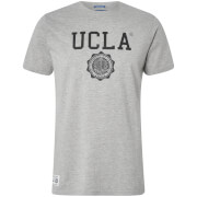 UCLA Men's Powell Logo T-Shirt - Light Grey Marl