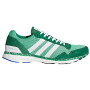 adidas Men's Adizero Adios Running Shoes - Green/White