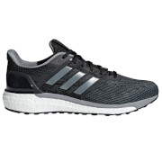adidas Men's Supernova Running Shoes - Black/White/Silver