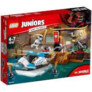 LEGO Juniors: Zanes Verfolgungsjagd mit dem Ninjaboot (10755)