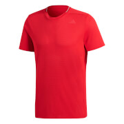 adidas Men's Supernova Running T-Shirt - Scarlet