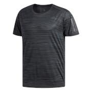 adidas Men's Response Print Running T-Shirt - Black/Carbon