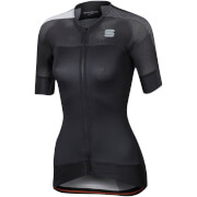 Sportful Women's BodyFit Pro Evo Jersey - Black/White
