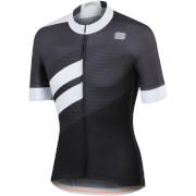 Sportful BodyFit Team Jersey - Black/White