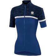 Sportful Women's Giara Jersey - Blue Twilight/White