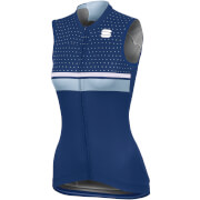 Sportful Women's Diva Sleeveless Jersey - Blue Twilight/White/Cerulean