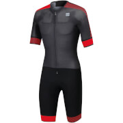 Sportful BodyFit Pro Road Suit - Black/Anthracite/Red