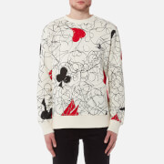 Vivienne Westwood MAN Men's Printed Sweatshirt - White