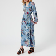 Gestuz Women's Begonia Wrap Dress - Light Blue Flower