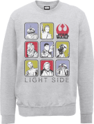 Star Wars Die letzten Jedi (The Last Jedi) Light Side Grau Pullover