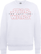 Star Wars The Last Jedi Men's White Sweatshirt