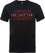Star Wars Die letzten Jedi (The Last Jedi) Men's Schwarz T-Shirt