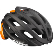 Lazer Blade Helmet - Black/Flash Orange