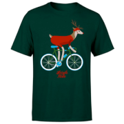 PBK Christmas Sleigh Ride Green T-Shirt