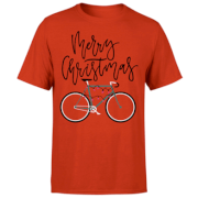 PBK Christmas Merry Christmas Fairy Lights Red T-Shirt